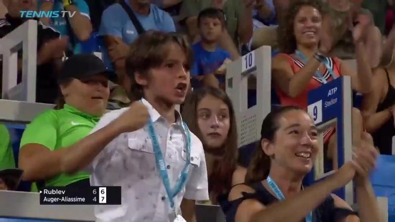 Рублёв - Оже Хот Шот (Betting good tennis)