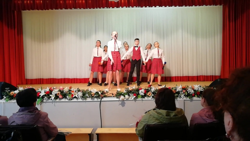 Отчетный концерт май 2018г. г.Кострома ,Гимназия №15