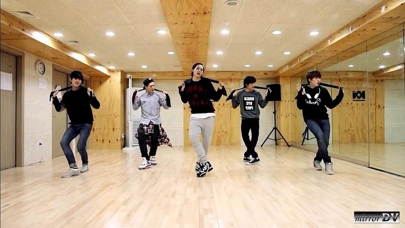 B1A4 - Lonely (dance practice) mirrorDV