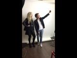 Анна Одегова и Дима Вебер необрезанный бэкстейдж их фотосета без купюр