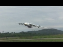 Antonov AN-225 Mriya (UR-82060) takeoff from Aeropuerto De Chimore