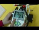2018 02 04 Юрин робот автоматически рисует лесенку на экране