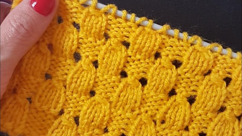 Badem Örgü / Knitted Drops