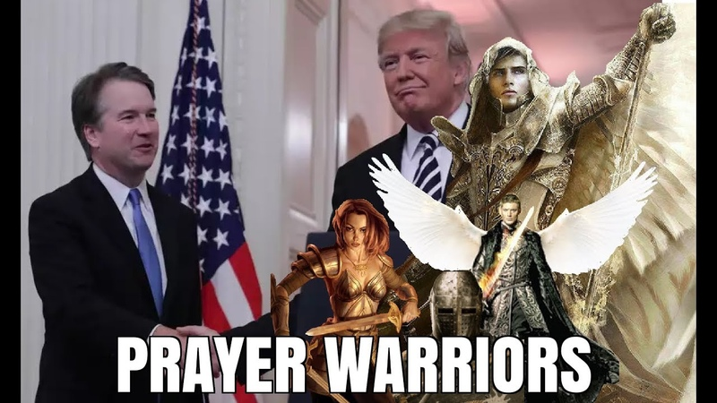 KAVANAUGH PRAYER WARRIORS STAND FIRM AGAINST WITCHES HEX