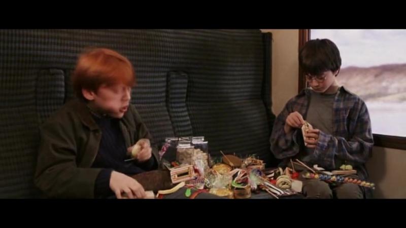 Конфеты Bertie Botts Jelly Belly Отрывок из фильма Гарри Поттер и философский камень