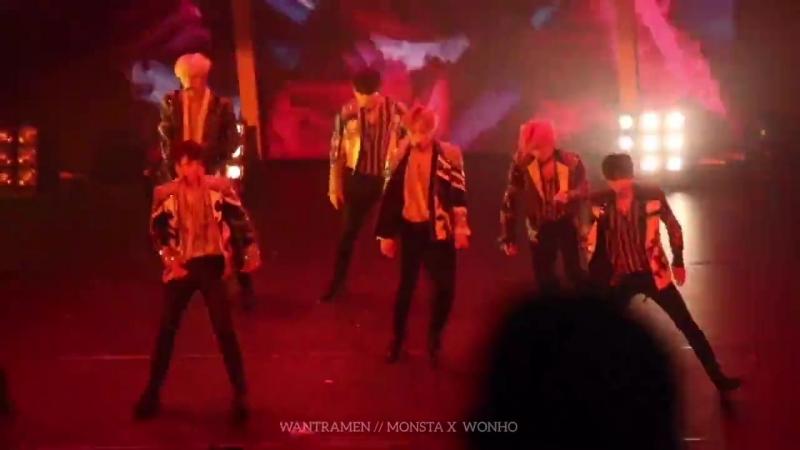 [VK][180517] MONSTA X fancam - Killin Me @ 1st Japan Tour 'PIECE' in Tokyo (D-1)