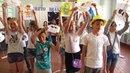 Відкриття табірної зміни у пришкільному таборі відпочинку Бригантина
