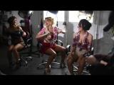 Татьяна Котова на съёмках клипа Adios (2018) - Голая? Ножки, грудь, попка
