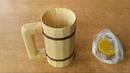 Дерев'яний кухоль власними руками / Деревянная кружка своими руками /Wooden Beer Mug