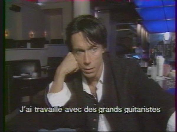 Iggy Pop interview in Les Enfants Du Rock (1988)