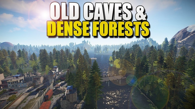 OLD CAVES, DENSE FORESTS MOUNTAIN LAKES (SDKustom Rust) 1