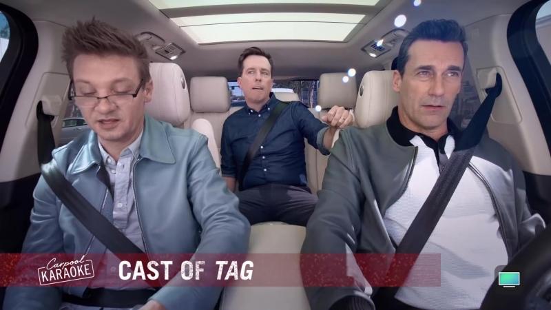 Carpool Karaoke- The Series - Jon Hamm, Jeremy Renner Ed Helms of Tag - The Apple TV App