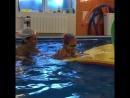 А в бассейне всегда отличная погодка🏊♀️💦☀️