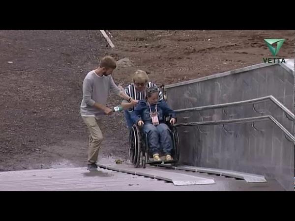 Пандусы на пермской набережной испугали инвалидов