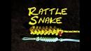 Rattlesnake Knife Lanyard - Over and Under Heaving Line Knot - Paracord Rattlesnake Lanyard