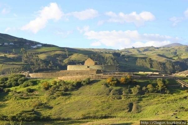 Древний город Ингапирка Ингапирка – руины древнего поселения инков, расположенные на вершине высокого холма в Южных Андах Эквадора, в 90 км к северу от крупного города Куэнка. В переводе с