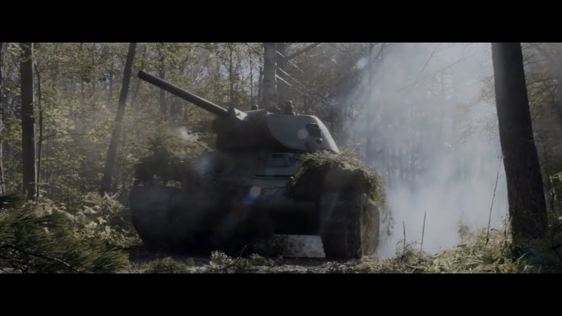 The Unknown Soldier (2017) - Soviet T-34 Charge (ENG sub)