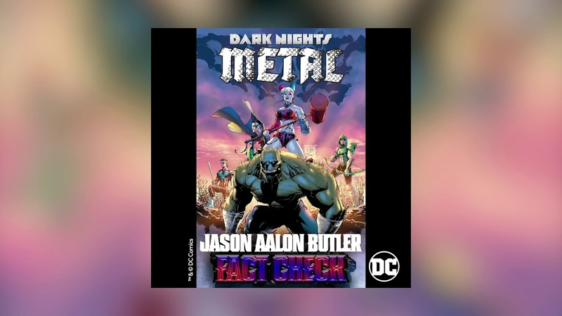 Jason Aalon Butler - Fact Check (from DCs Dark Nights Metal Soundtrack) [Official HD Audio]