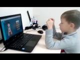 Миша Лукин, 5 лет. Basic, 12 примеров, 1,6с, десятки.