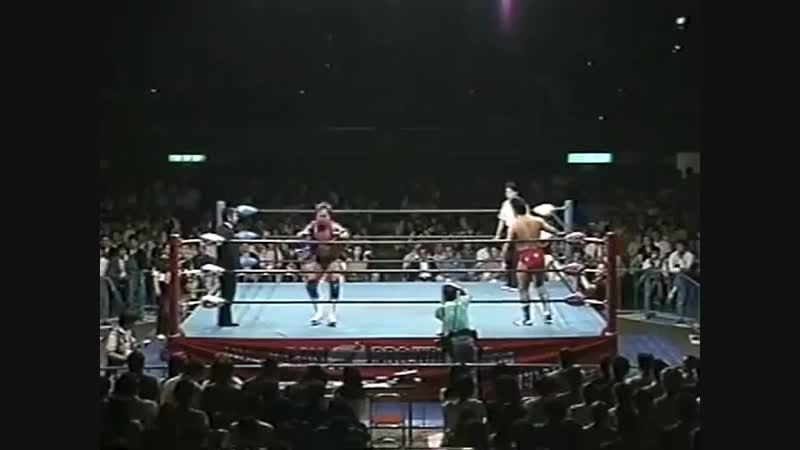 1994.05.18 - Tommy Rogers vs. Masao Inoue [JIP]