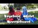 Ruby and Sapphire: Keystone Motel Reenactment Part 2 | Outside the Diner (Steven Universe)