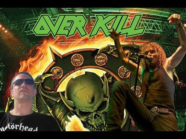 Overkill Bobby 'Blitz' Ellsworth Interview-New Album February 2019 Live Album