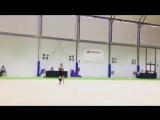 Арина Аверина (тренировка) // Чемпионат Европы 2018, Гвадалахара