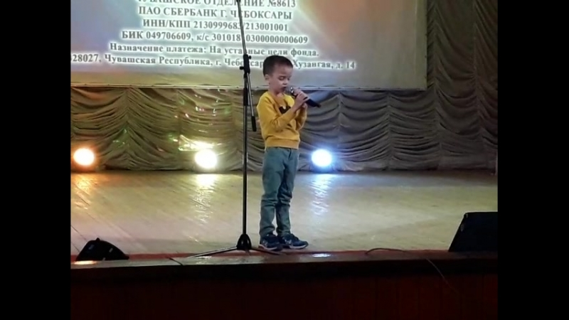 Кирилл Степанов концерт Аликово 01.06.18.
