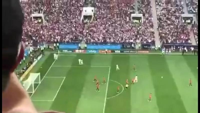 ЧМ 2018 матч Россия - Испания. Дзюба