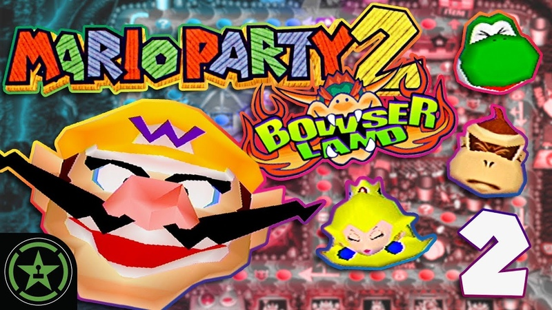 Bowser Pounds Everyone - Mario Party 2 with ProZD (2) | Let's Play