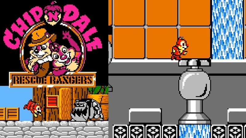 Chip n Dale - Rescue Rangers (NES)