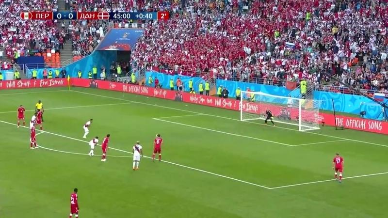 06. C. Перу - Дания. Обзор матча. FIFA 2018.