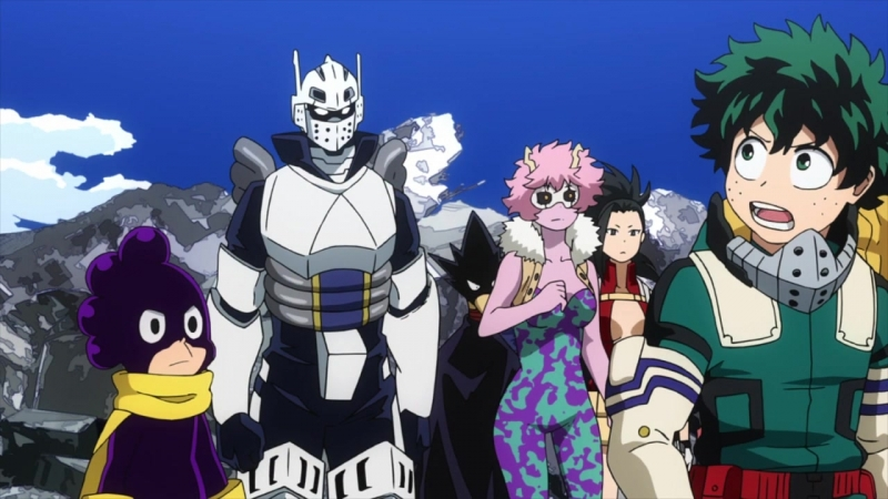 Boku no Hero Academia ТВ 3 19 серия [Озвучили OVERLORDS Ruri Shoker] Моя геройская академия 3 сезон 19