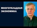 Валерий Пякин МНОГОУКЛАДНАЯ ЭКОНОМИКА