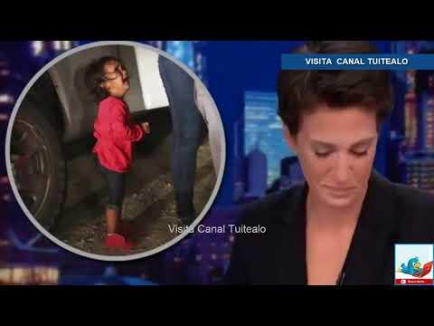 La conductora Rachel Maddow llora al dar noticia sobre niños migrantes en EU Video