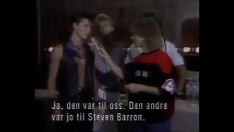 A-ha MTV Video Music Awards 1986