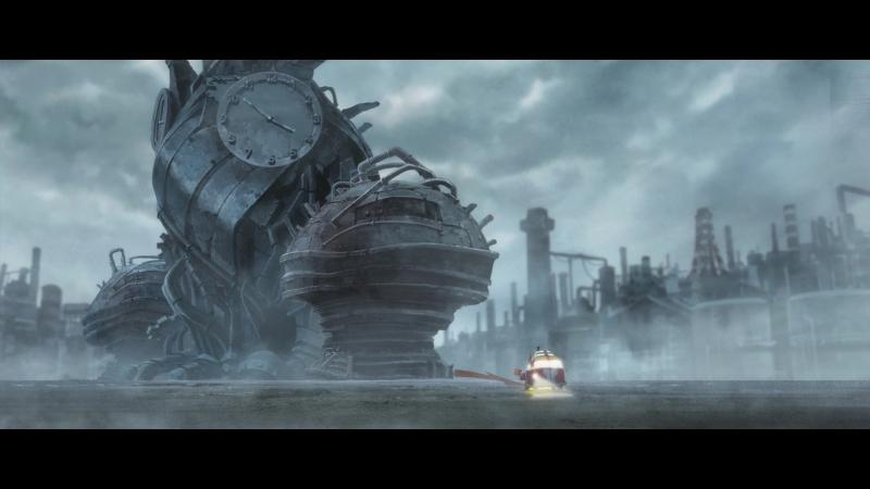 Красный пепел - механический мир (субтитры)