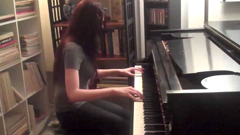 Fade to Black Metallica Piano Cover by Nomi Abadi with ending solo