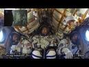 La Soyuz MS-09 visto desde dentro de la cápsula