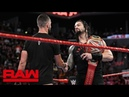 Roman Reigns to defend the Universal Title against Finn Bálor Raw Aug 20 2018