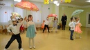 Задорный танец с зонтиками Праздник Осени в детском саду Разновозрастная группа