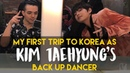 Back up dancing for kim taehyung