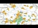 Карта Андрушівський р н Житомирська обл Україна