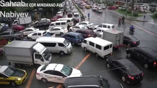 Terrible footages of Yagi Typhoon in Philippines - August 2018