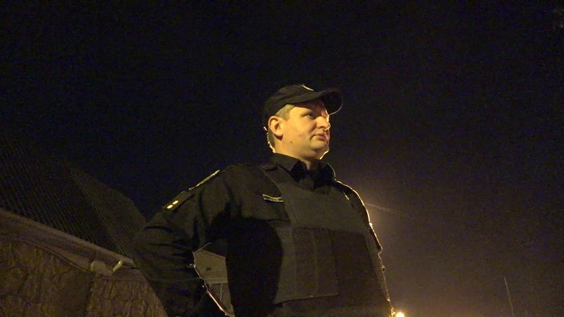 Полиция на евробляхах с сиреной и мигалками Наркотический Харьков 2 часть