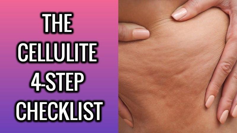 The Cellulite 4-Step Checklist
