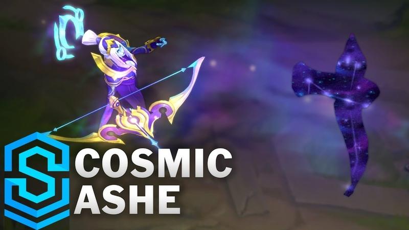 Cosmic Queen Ashe Skin Spotlight Pre Release League of Legends