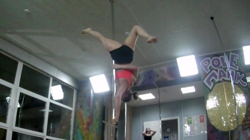 Pole PANK Dance studio /OMSK /ученица Анна/Pole dance Омск