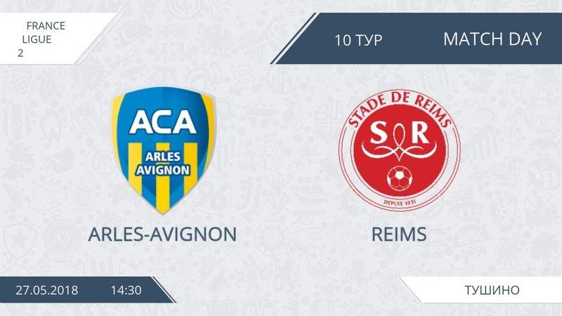 AFL18. France. Ligue 2. Day 10. Arles - Reims