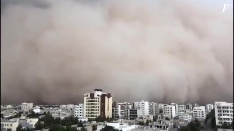 Iran_ tempesta di sabbia